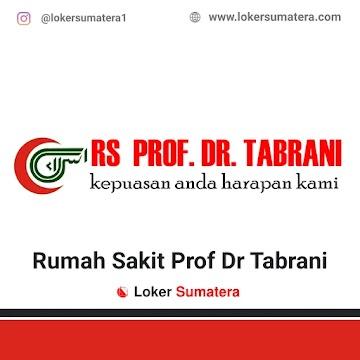Lowongan Kerja Pekanbaru, Rumah Sakit Prof Dr Tabrani Juni 2021