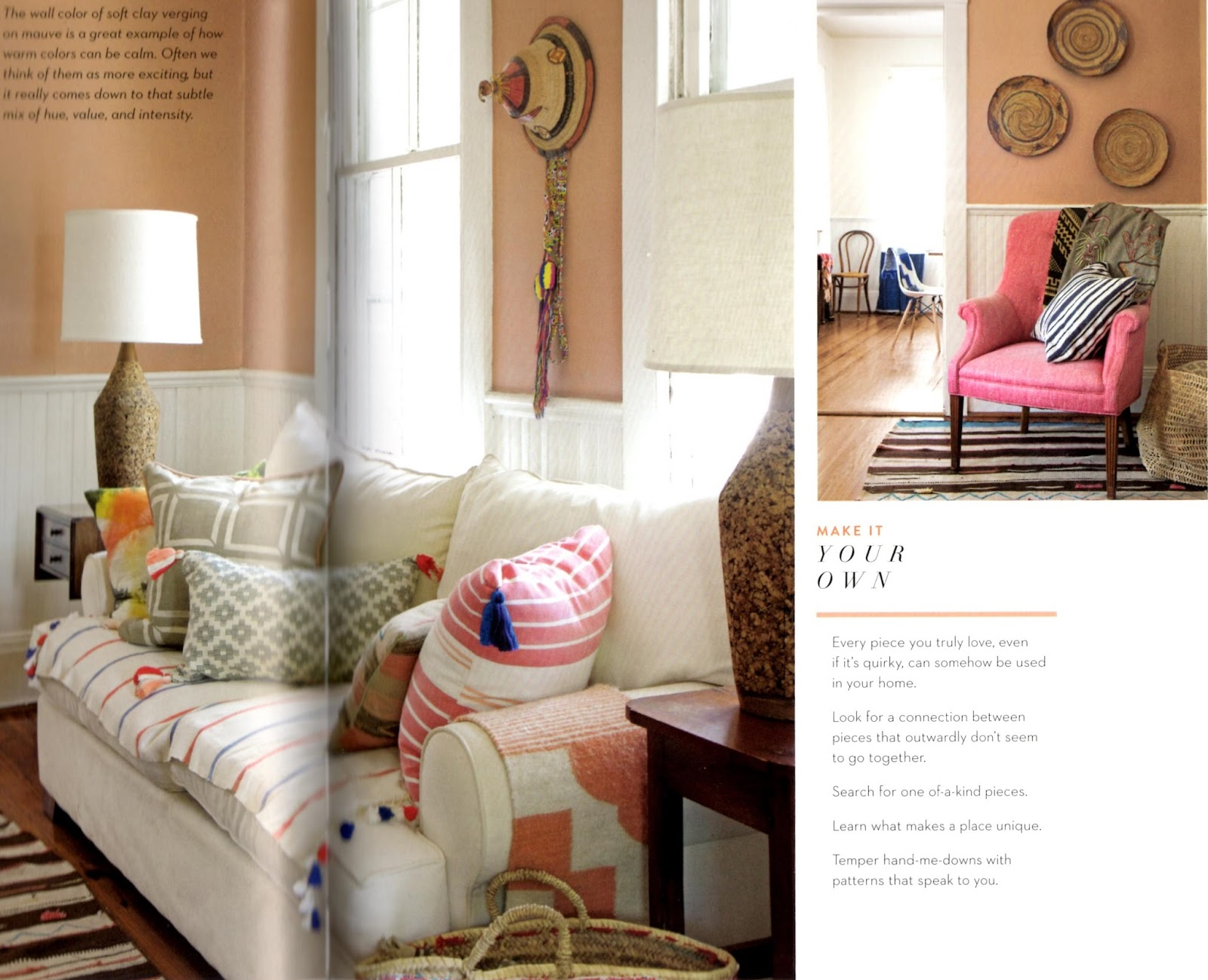 BoHo Home A dozen delights from Rebecca Atwoods Living with Pattern