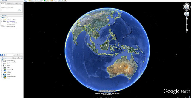 Google Perbarui Maps Berbentuk Bola Dunia