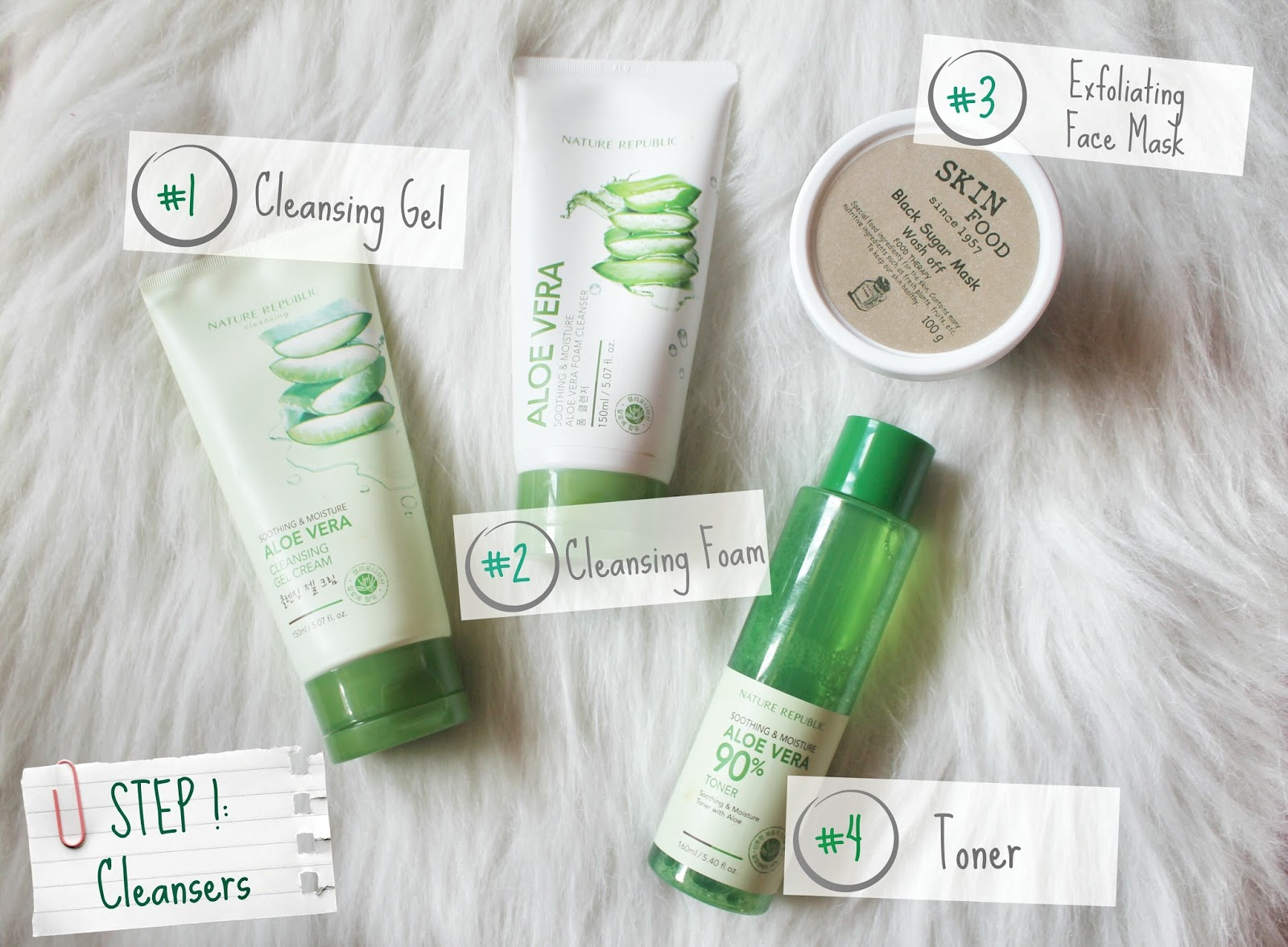 From Pimple Face To Free Part 2 Sooo Dana Nature Republic Aloe Vera Foam Cleanser This Is What I Do