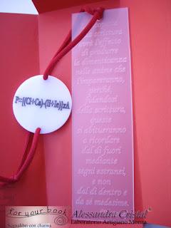 regalo laurea segnalibro inciso elastico chiudilibro personalizzato
