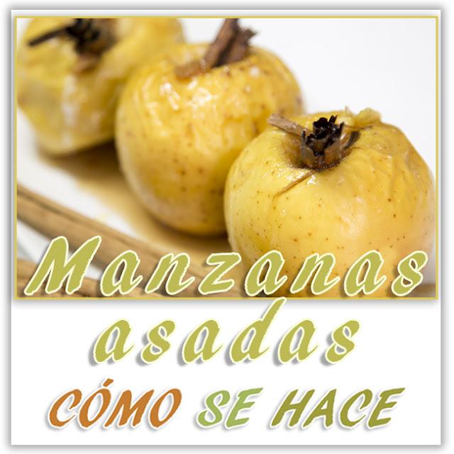 MANZANAS ASADAS...