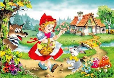 Caperucita Roja y el Lobo Feroz - cuentos infántiles