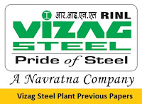 Vizag Steel Plant Previous Papers