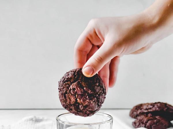 Vegane Schokoladen-Cookies