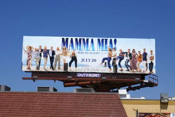 Mamma Mia 2 billboard