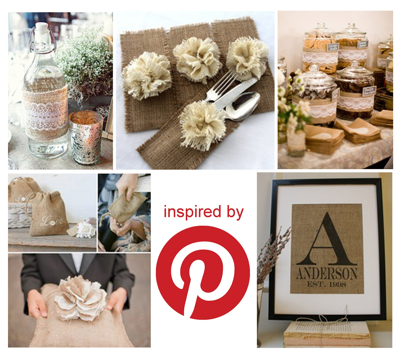 The Creative Bag Blog: Burlap Inspiration