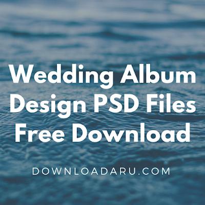 Wedding Album Design PSD Files Free Download