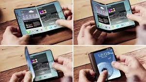 Samsung Galaxy X: Samsung's fold-able phone.