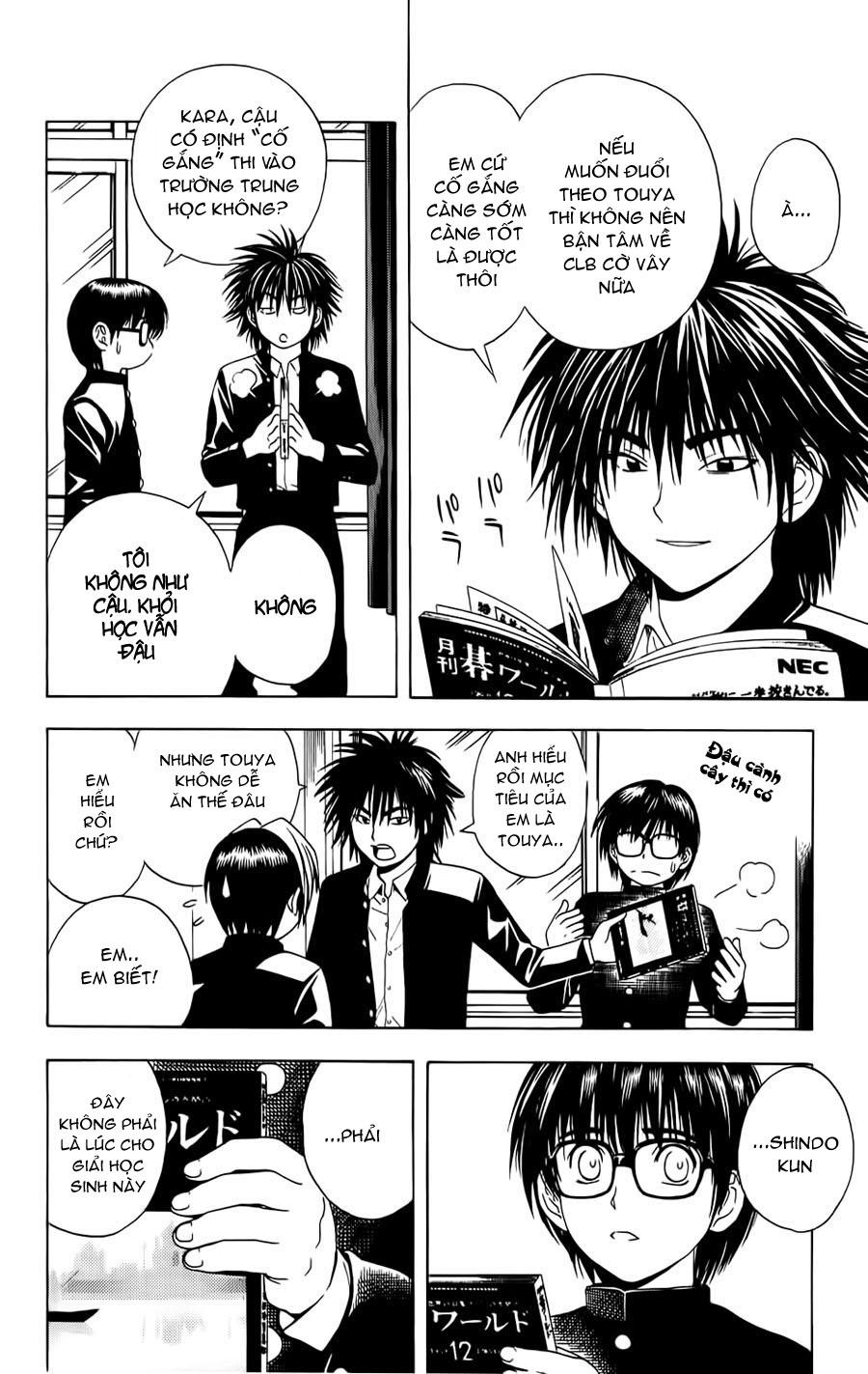Hikaru No Go hikaru no go chap 42 trang 11