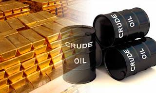gold crude oil