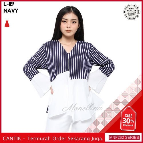 MNF262A108 Atasan L Wanita 119 Atasan Blouse Baju 2019 BMGShop