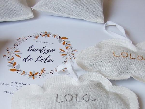 Lino y lavanda para los saquitos perfumados de Lola