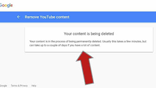 How to permanently delete a youtube channel