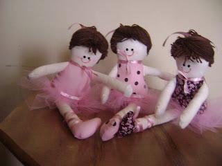fotos+060 - Bonecas bailarinas em pano