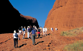 Walk around the base of Uluru