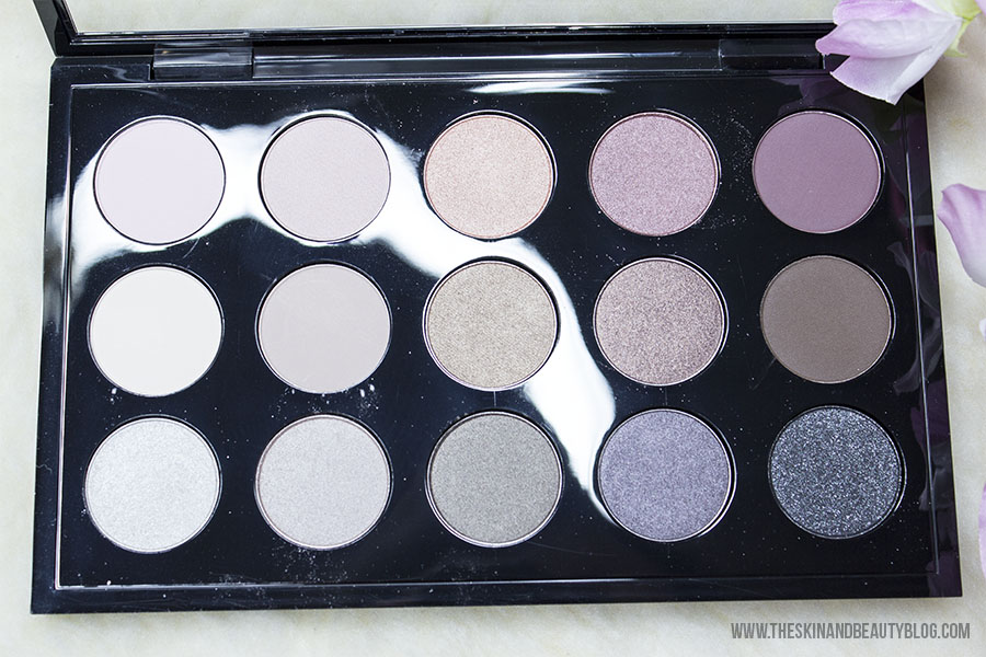 MAC Eye Shadow x15 Cool Neutral Palette Review, Swatches ...