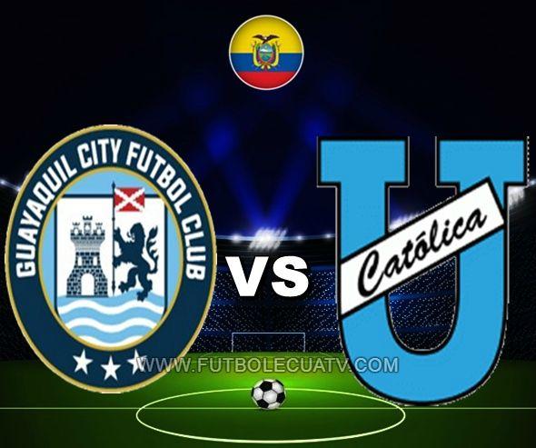 Guayaquil City se mide ante U. Católica en vivo desde las 12:00 horario local a efectuarse en el reducto Christian Benítez aperturando la fecha veintidós del campeonato doméstico, siendo el juez principal Diego Lara con emisión de los canales oficiales CNT Sports, GolTV y DirecTV.