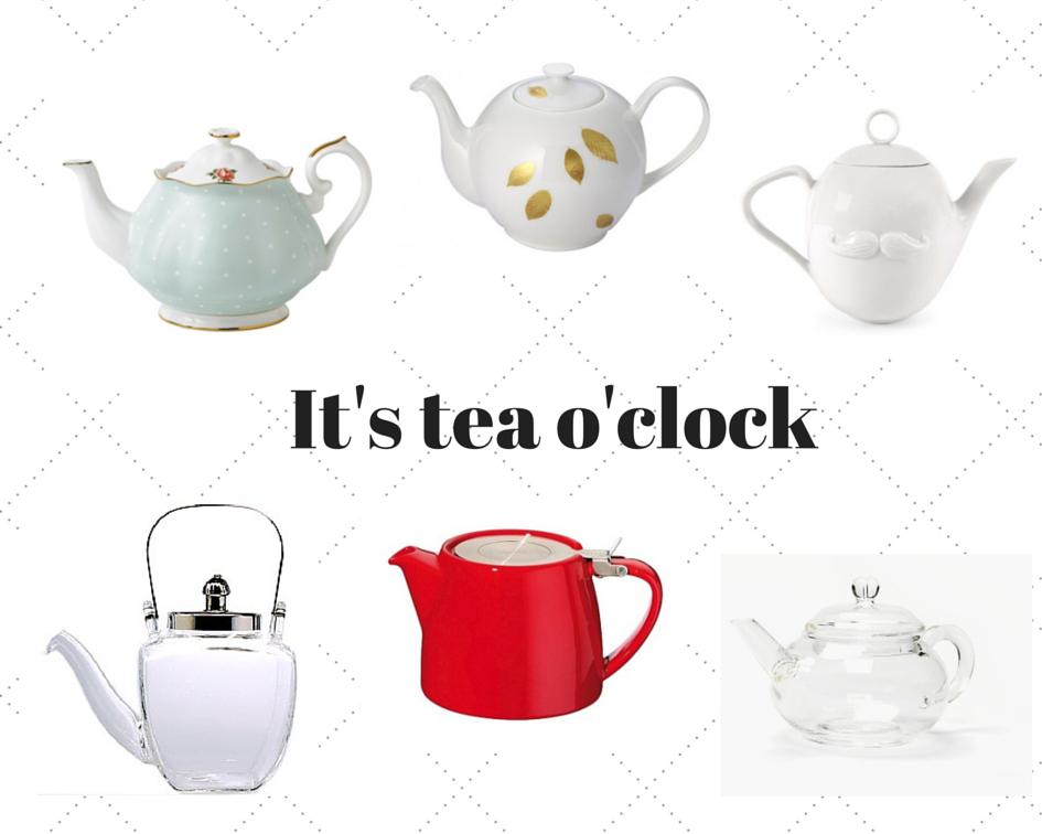 Lieblingsstück der Woche: Teekannen für die Teatime