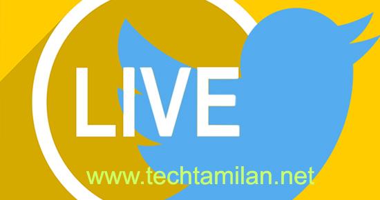 twitter live video