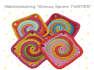 Ebook: Granny Square TWISTER –  English version available!