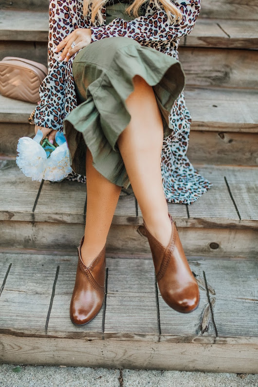 Stepping Out for Fall in Rockport x Zappos!