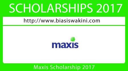 Maxis Scholarship 2017