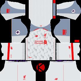 Liverpool FC 2018/19 Kit - Dream League Soccer Kits
