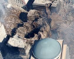 destruction after new York attack 9/11