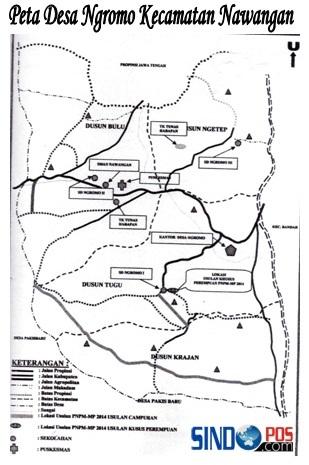 Profil Desa & Kelurahan, Desa Ngromo Kecamatan Nawangan Kabupaten Pacitan