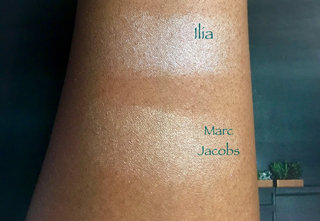 Ilia Illuminator, Marc Jacobs Glow Stick Spotlight (bellanoirbeauty.com)
