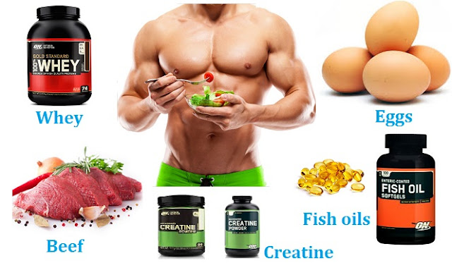 Muscle Building Foods and Supplements