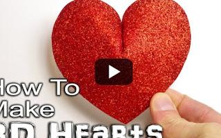 Φτιάξτε τρισδιάστατες καρδούλες για το ταίρι σας! [video]