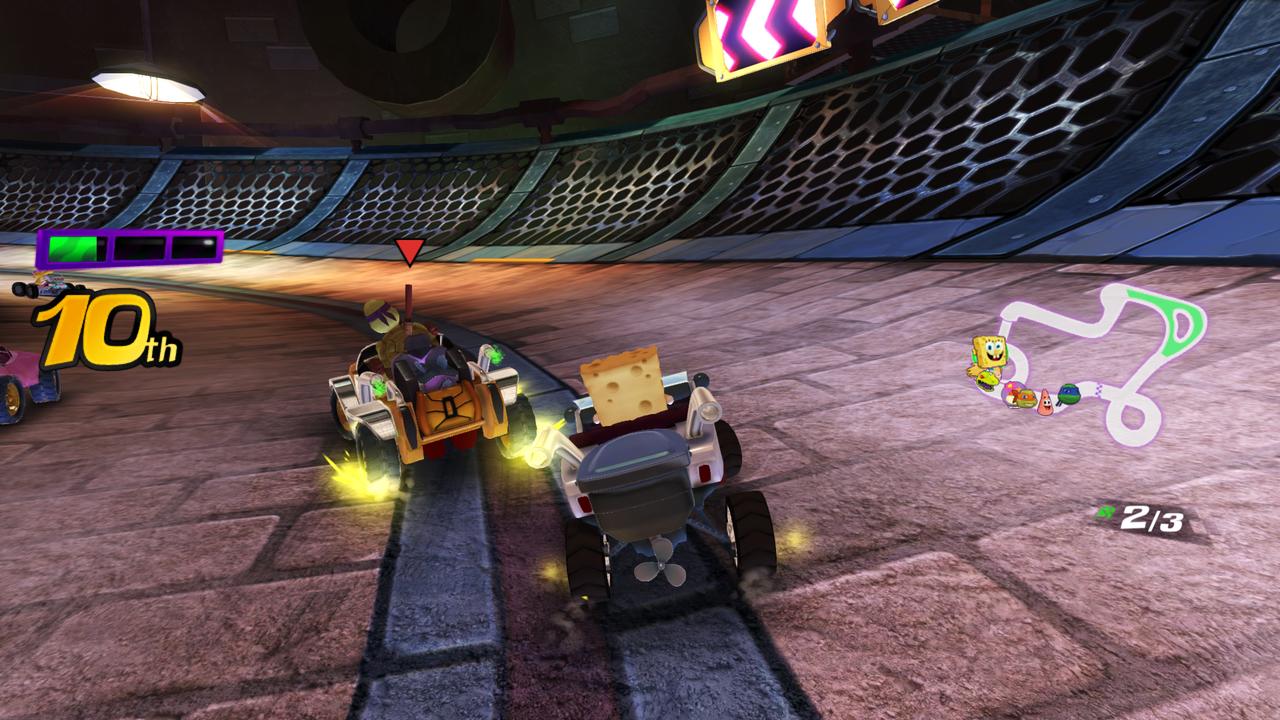 Se anuncia Nickelodeon Kart Racers