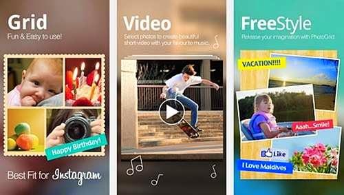 Aplikasi android gratis menggabungkan foto