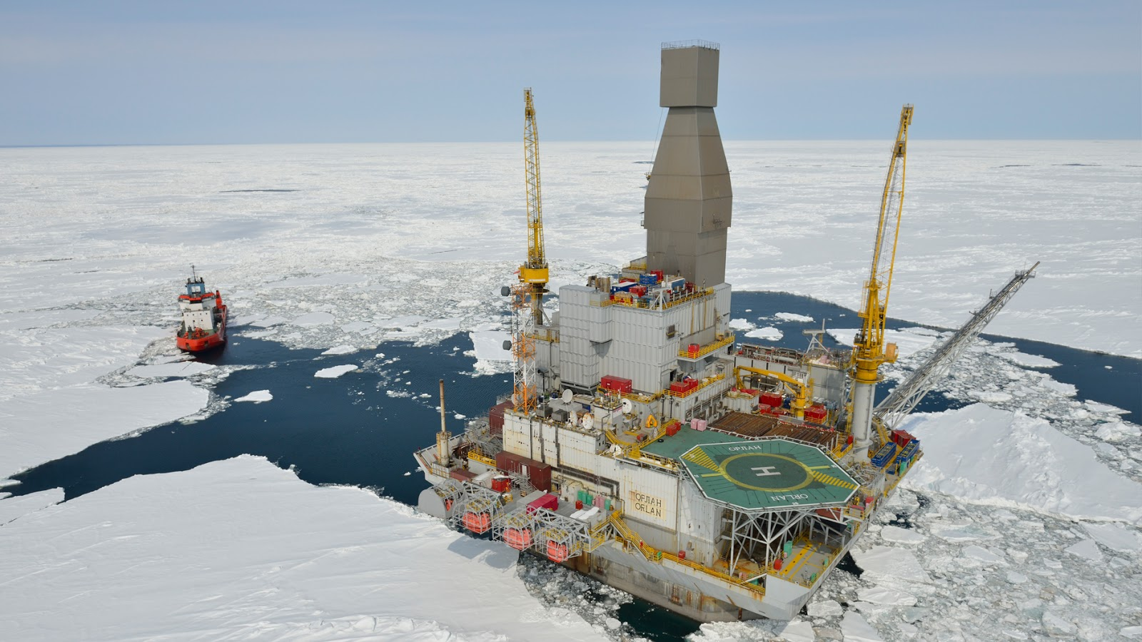 OFFSHORE PLATFORMS: The Existing One Are Strong Enough for Arctic Operations, BSEE Study Finds