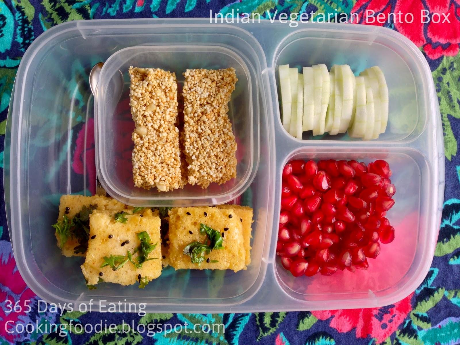 Kids Special Indian Vegetarian Bento Box 1