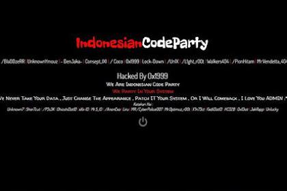 """Heboh! Hacker Serang Situs Web Sari Roti Tulis """"I Love You Admin"""""""