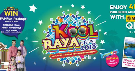 THE KOOL-EST RAYA EVER ~Flight tickets to Medan, Indonesia up for grabs~