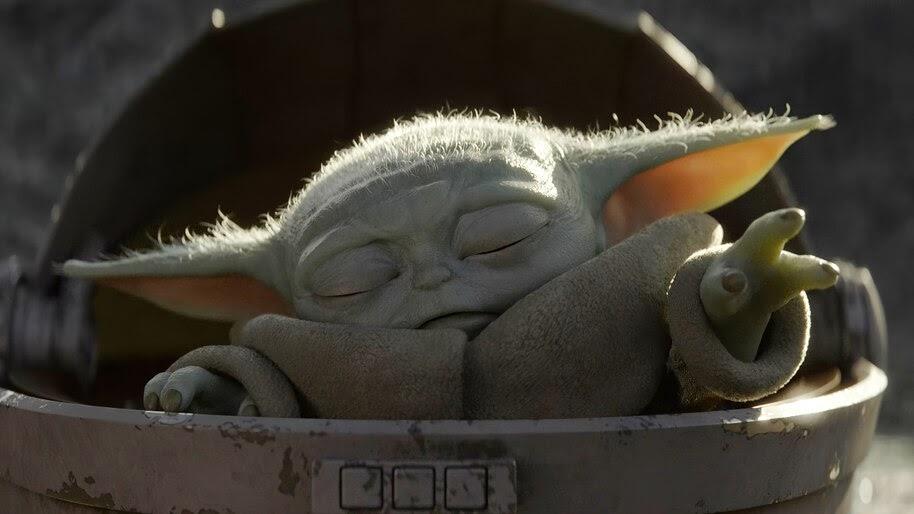 Baby Yoda, The Mandalorian, 4K, #7.989