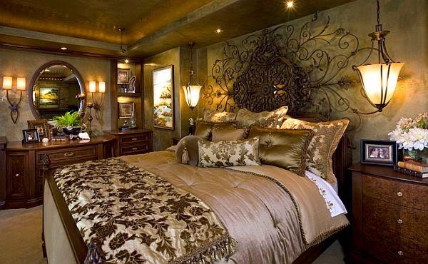 Decoración habitación elegante