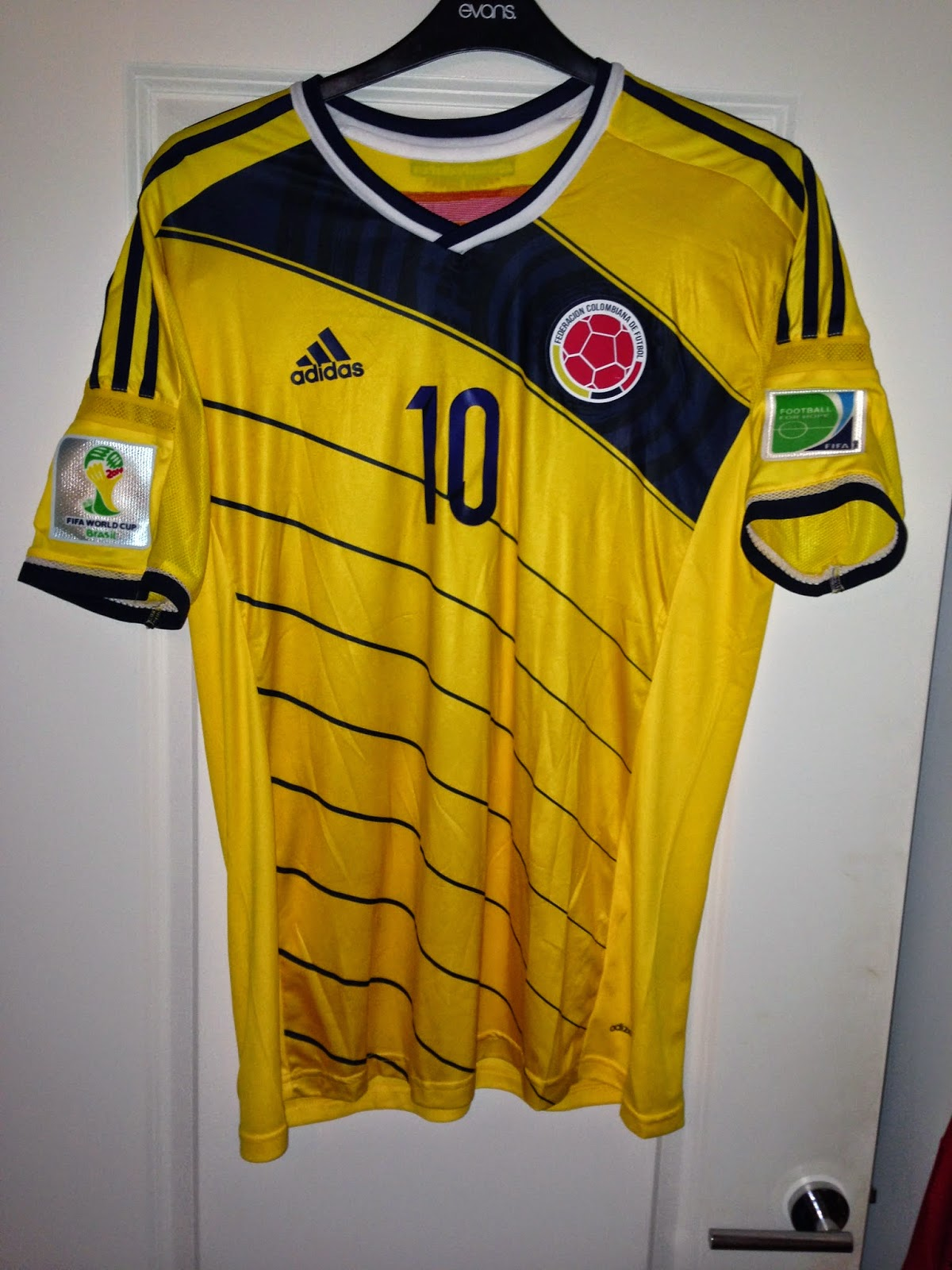 Colomobia Home 2014. Colombia probably came to most people s attention  during this years World Cup. b9f70ad15