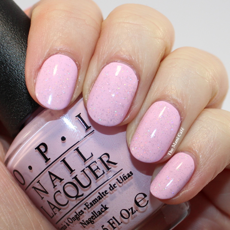 The Mani Café: OPI Mod About You & China Glaze Fairy Dust