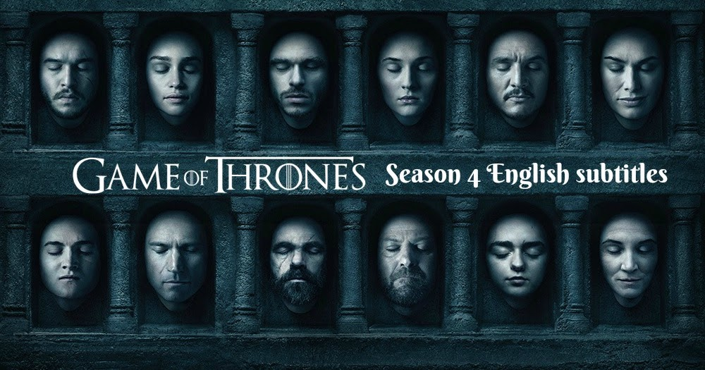 game of thrones season 4 episode 3 english subtitles