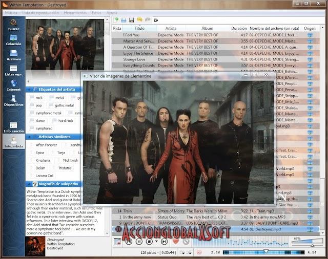 Clementine Music Player 1.3.1 [Organiza tu biblioteca de música con este práctico programa]