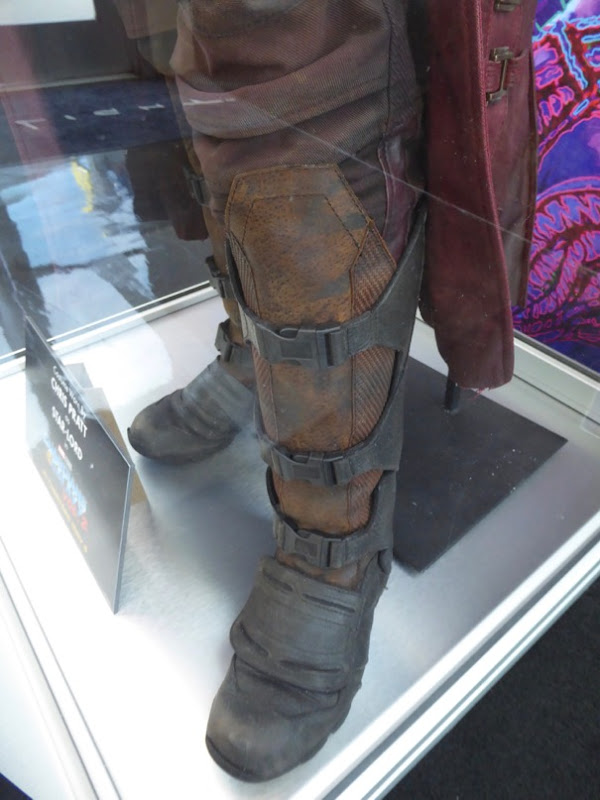 Guardians Galaxy 2 Star-Lord costume boot detail
