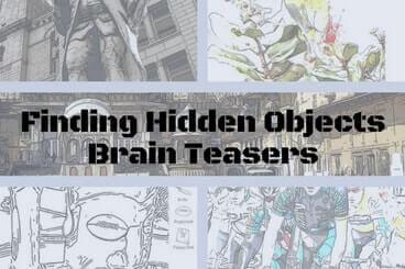 Hidden pictures for teens
