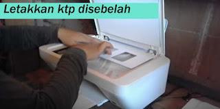 fotocopy ktp atas bawah via printer - foto: rahen radenda(yt)