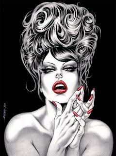 Dark Divas les femmes fatales de Nik Guerra