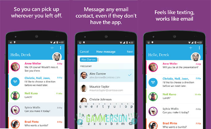 APK] Download Send App : Microsoft's Email Messaging Client